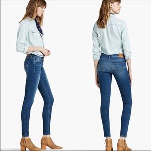 Woman Lucky Brand Skinny Charlie Jeans  14/32.